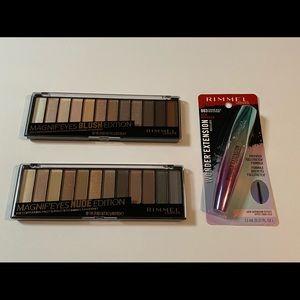 🆕 Bundle of Makeup, Rimmel Eyeshadow & Mascara